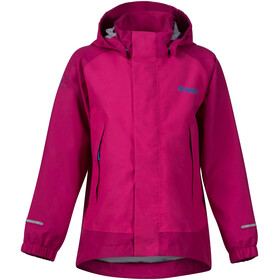 """Bergans Kids Knatten Jacket Hot Pink/Cerise/Light Winter Sky"""